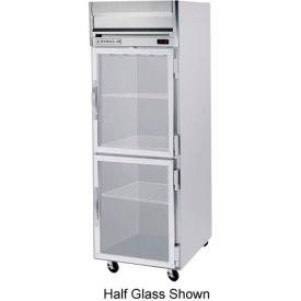 "Beverage Air® HFP1HC-1G Reach-In Freezer Horizon Series Glass & Half-Glass Doors, 26""W"