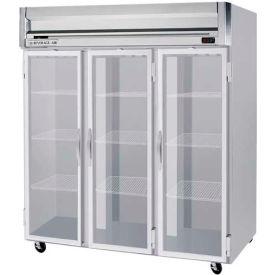 "Reach-in Freezer Horizon Series Glass & Half-Glass Doors, 78""W - HFP3HC-5G"