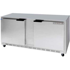 "Beverage Air® UCR72AHC 29""D Undercounter Refrigerator Food Prep Series, 72""W"
