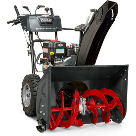 """Briggs & Stratton 27"""" Medium-Duty Snow Thrower 1227MDS - Dual Stage, 250cc. Gas with Electric Start"""