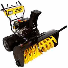 STANLEY 45in. Commercial 420cc Electric Start 2-Stage Gas Snow Blower