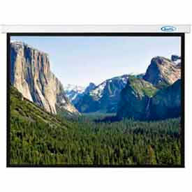 70 x 70 Innsbruck Electric Screen Matte White Fabric Sq. Format Projector Screen