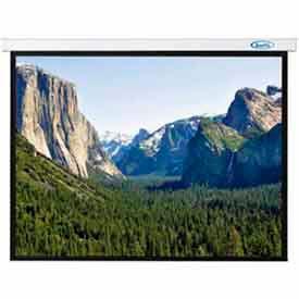 84 x 84 Innsbruck Electric Screen Matte White Fabric Sq. Format Projector Screen