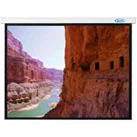 84 x 84 Sorrento Electric Screen Matte White Fabric Sq. Format Projector Screen