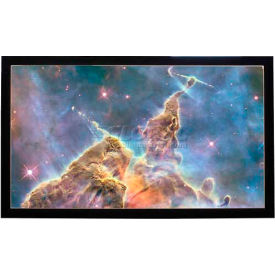 """120"""" Diagonal, 59 x 105 Viewable Fixed Frame Projector Screen, 16:9 Format"""