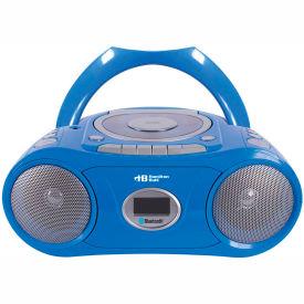 Portable CD, Cassette and AM/FM Radio Boom Box