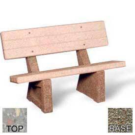 Superb Benches Picnic Tables Benches Concrete 48Quot Beatyapartments Chair Design Images Beatyapartmentscom