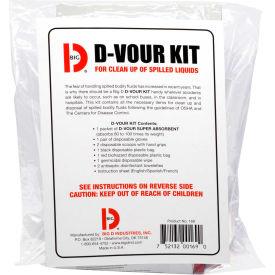 Big D D'Vour Bodily Fluid Clean-Up Kit - 169 - Pkg Qty 6