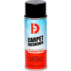Big D Carpet Freshener, 14 oz. Aerosol Can, 12 Cans - 241