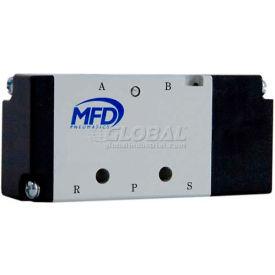 """Bimba-Mead Air Pilot Valve M4A210-06, 5 Port, 2 Pos, Sgl Control, 1/8"""" NPT, Cv=0.78"""