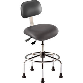 Pleasing Stools Vinyl Upholstered Biofit Antimicrobial Stool W Theyellowbook Wood Chair Design Ideas Theyellowbookinfo