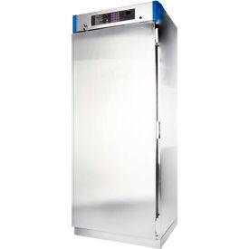 Blickman Stainless Steel Door 30W x 26-5/8D x 74-1/2H Blanket Warming Medical Cabinet