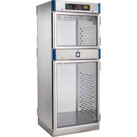 Blickman Glass Door 30W x 26-5/8D x 74-1/2H Blanket Warming Medical Cabinet