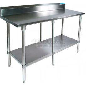 BK Resources Workbench W/Undershelf, 18 Ga. 430 Series Stainless, 5
