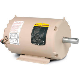 Baldor Motor AFM3529, 1HP, 3450RPM, 3PH, 60HZ, 56Z, 3416M, TEAO, F1, N