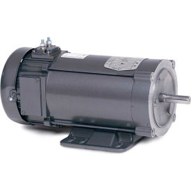 Baldor Motor CDP3445-V24, 1HP, 1800RPM, DC, 56C, 3435P, TEFC, F1