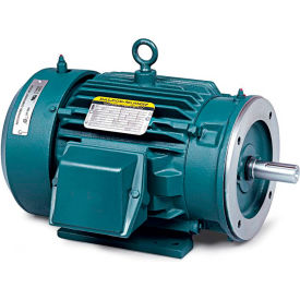 Baldor Motor CECP3769T, 7.50HP, 3520RPM, 3PH, 60HZ, 213TC, TEFC, FOOT