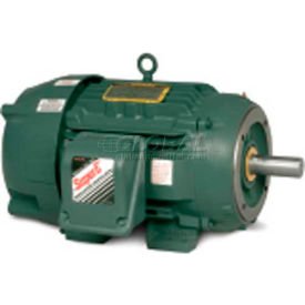 Baldor-Reliance Severe Duty Motor, CECP82334T-4, 3 PH, 20 HP, 460 V, 1765 RPM, TEFC, 256TSC Frame