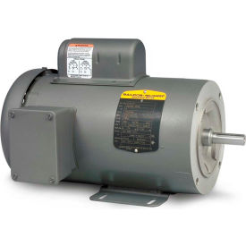Baldor-Reliance Motor CL3503, .5HP, 3450RPM, 1PH, 60HZ, 56C, 3413L, TEFC, F1