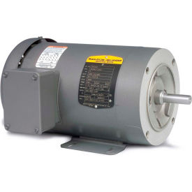Baldor Motor CM3542-5, .75HP, 1725RPM, 3PH, 60HZ, 56C, 3420M, TEFC, F1