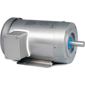 Baldor-Reliance Washdown Motor CSSWDM3542-5, 3 Phase, 0.75 HP, 1740 RPM, 575 Volts, TENV, 56C FR