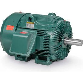 Baldor Motor ECP4403T, 60HP, 1185RPM, 3PH, 60HZ, 404T, TEFC, FOOT