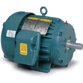 Baldor-Reliance Severe Duty Motor, ECP83583T-5, 3 PH, 1.5 HP, 575 V, 3450 RPM, TEFC, 143T Frame