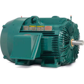 Baldor-Reliance Severe Duty Motor, ECP844252T-5, 3 PH, 250 HP, 575 V, 3570 RPM, TEFC, 449TS Frame