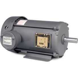 Baldor-Reliance Explosion Proof Motor, EM7018T-I, 3PH, 1.5HP, 230/460V, 3500RPM, 143T