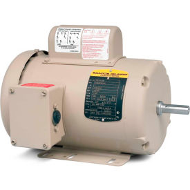 Baldor Motor FDL3501M, .33HP, 1725RPM, 1PH, 60HZ, 56, 3414L, TEFC, F1