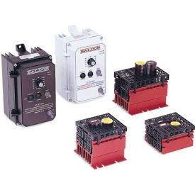 Baldor-Reliance Series 5 Micro Inverter, ID5202-CO, 230V, 2/1.5 HP/kW, 3PH, Open Chassis Mount