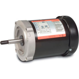 Baldor Motor JM3550, 1.5HP, 3450RPM, 3PH, 60HZ, 56J, 3424M, TEFC, F1