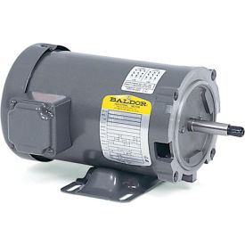Baldor Motor JM425, .75HP, 3450RPM, 3PH, 60HZ, 56J, 1716M, OPEN, F1
