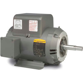 Baldor Motor JML1510T, 7.5HP, 1725RPM, 1PH, 60HZ, 215JM, 3744LC, OPEN