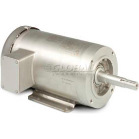Baldor-Reliance Washdown Motor JMSSEWDM3613T, 3 Phase, 5 HP, 3500 RPM, 208-230/460 V,TEFC,184JM FR