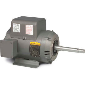Baldor Motor JPL1408T, 3HP, 1725RPM, 1PH, 60HZ, 182JP, 3634LC, OPEN, F