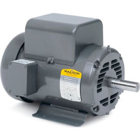 Baldor Motor L1405, 2HP, 1725RPM, 1PH, 60HZ, 184, 3628L, OPEN, F1, N