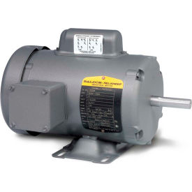 Baldor Motor L3510T, 1HP, 1725RPM, 1PH, 60HZ, 143T, 3524L, TEFC, F1