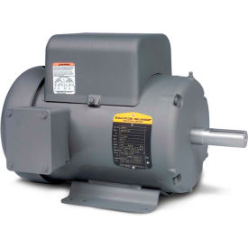 Baldor-Reliance Single Phase Motor, L3609TM, 3 HP, 115/230 Volts, 1725 RPM, TEFC, 184T Frame