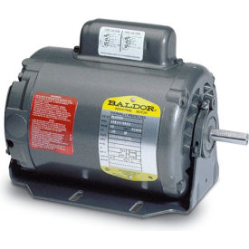 Baldor Motor RM3007, .33HP, 1725RPM, 3PH, 60HZ, 48, 3413M, OPEN, F1