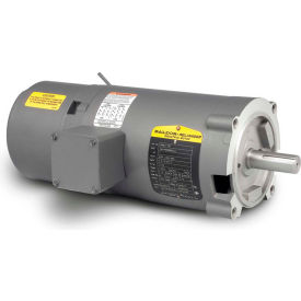 Baldor Motor VBM3108, .5HP, 1725RPM, 3PH, 60HZ, 56C, 3416M, OPEN, F1