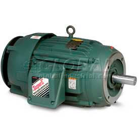 Baldor-Reliance Severe Duty Motor, VECP2334T-4, 3 PH, 20 HP, 460 V, 1765 RPM, TEFC, 256TC Frame