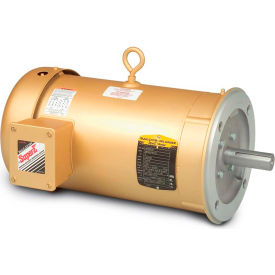 Baldor-Reliance General Purpose Motor, 208-230/460 V, 10 HP, 1770 RPM, 3 PH, 215TC, TEFC