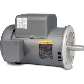 Baldor Motor VL1408T, 3HP, 1725RPM, 1PH, 60HZ, 184TC, 3634LC, ODTF, F