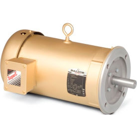 Baldor Motor VM3611T,  3HP,  1725RPM,  3PH,  60HZ,  182TC,  3535M,  TEFC,  F1