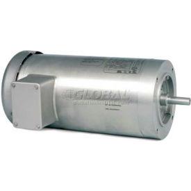 Baldor-Reliance Washdown Motor VSSEFWDM3546T, 3 Phase, 1 HP, 1800 RPM, 208-230/460 V,TEFC,143TC FR