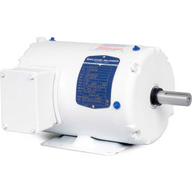 Baldor Motor WDM3538, .5HP, 1725RPM, 3PH, 60HZ, 56, 3516M, TENV, F1, N