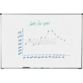 """Balt® Magne-Rite Markerboard with Slim Trim 48""""W x 48""""H"""