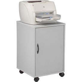 "Balt® 27502 Single Fax & Printer Stand, 17-1/2""W x 17-1/2""D x  26-5/8""H, Gray"
