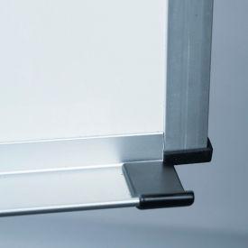 "Balt® Porcelain Steel Markerboard with ABC Trim - 24""W x 18""H"